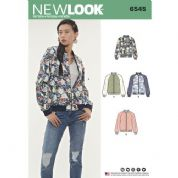 6545 New Look Pattern: Misses' Jacket